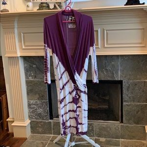 Tie dyed dress